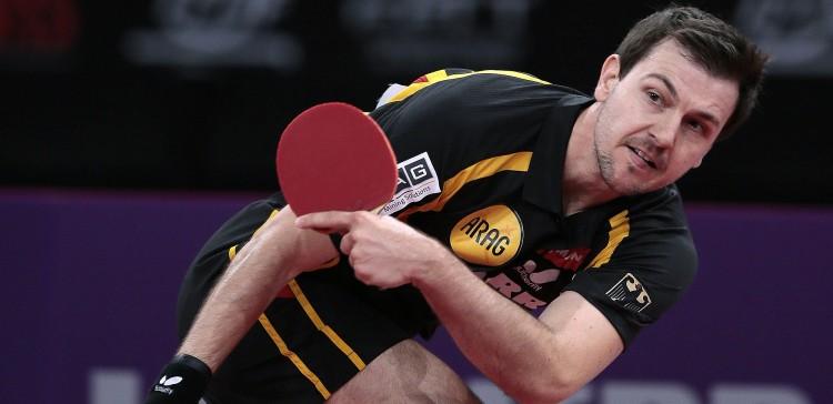 بازیکن چپ دست پینگ پنگ